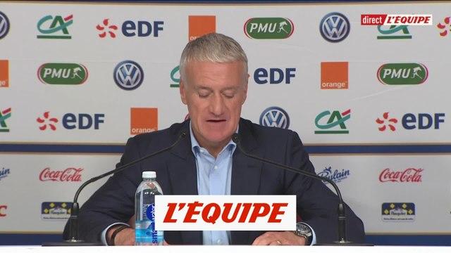 Deschamps donne sa liste - Foot - Ligue des nations - Bleus