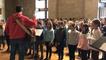 239 élèves répètent avec deux chorales pour le centenaire de l'armistice