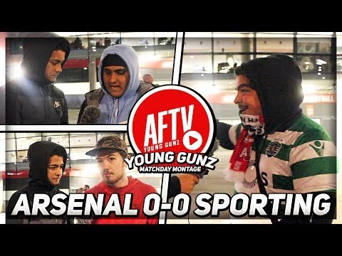 Arsenal 0-0 Sporting Lisbon | Aubameyang Was Poor! (AFTV Young Gunz) (NEW FEATURE)