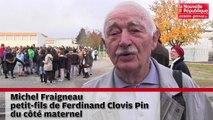 VIDEO. Poitiers : le relais de la paix du collège rebaptisé Ferdinand Clovis Pin