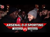 Arsenal 0-0 Sporting Lisbon | Jenkinson Was A Hell Of A Lot Better Today! (Troopz)