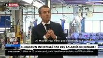 """Emmanuel Macron interpellé par un salarié du constructeur Renault: """"Vous n'êtes pas le bienvenu ici"""" - VIDEO"""