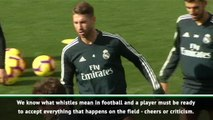 Ramos must accept criticism from Real Madrid fans - Enrique