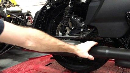 Harley-Davidson Touring Model Muffler Removal