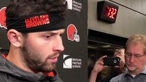 Baker Mayfield talks about getting Duke Johnson more involved