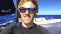 Vidéo du bord - FRANCOIS GABART MACIF