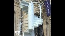 Un morceau d'escalier de la Tour Eiffel bientôt aux enchères