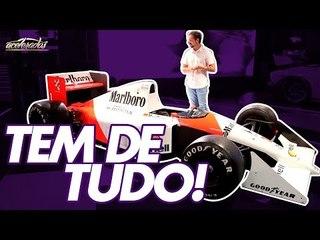 Rolê de Ferrari, McLaren do Senna, Rolls-Royce: As atrações + exóticas do Salão! AceleradosNoSalão#2