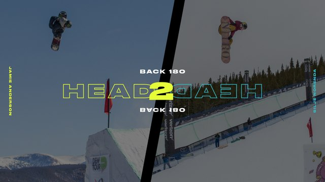 Head 2 Head: Jamie Anderson Vs. Silje Norendal Backside 180
