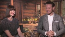 Outlander - Sam Heughan & Caitriona Balfe on Love, Weather and