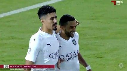 Qatar : Bounedjah inscrit un triplé