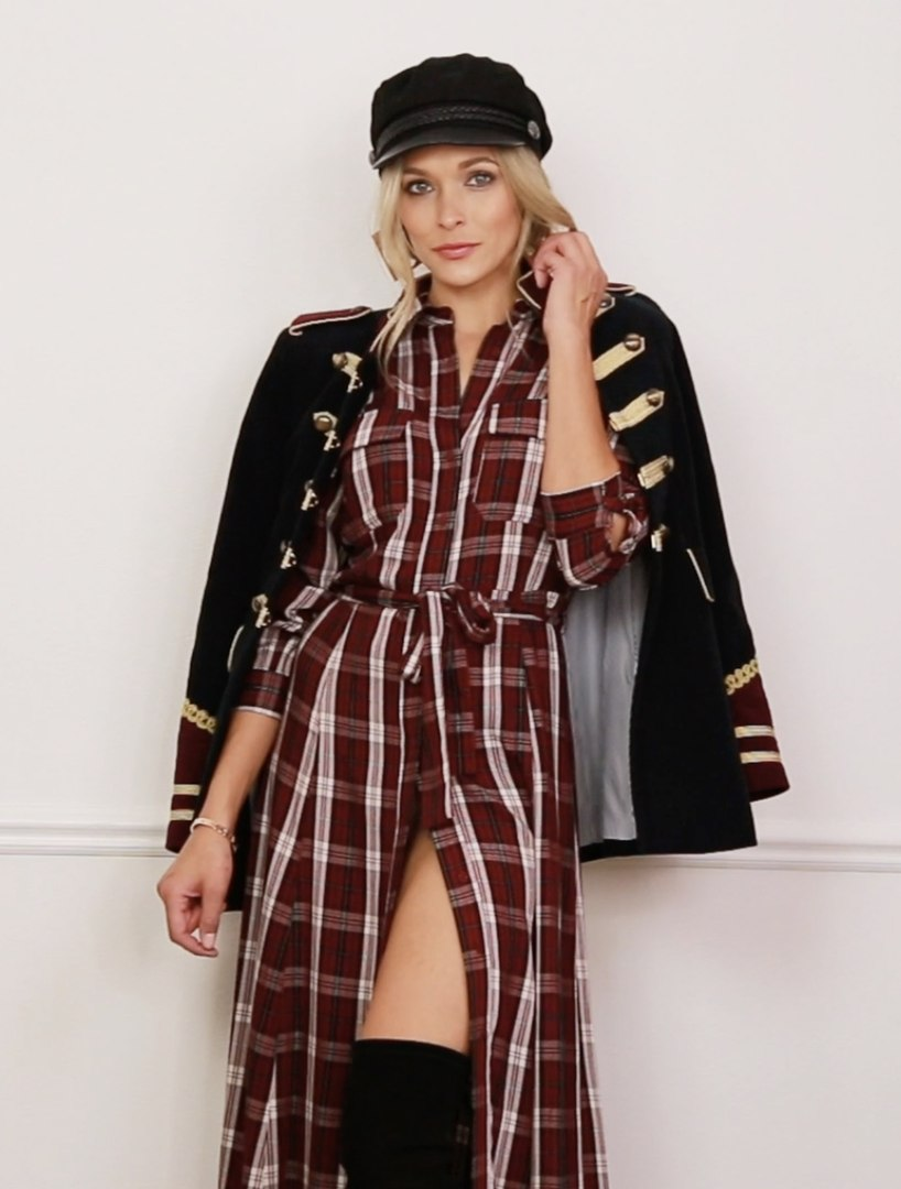 Get Trending! Three Ways You Can Style A Plaid Dress