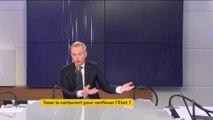 """Taxe sur les carburants : """"On peut raconter tout et n'importe quoi"""", François de Rugy dément les affirmations de la CLCV"""