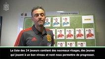 Espagne - Luis Enrique annonce sa liste avec des images Panini géantes