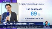 Agressions, tags, lettres... Le président de la Licra confirme la forte hausse d'actes antisémites en France depuis le début de l'année