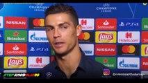 Intervista a Cristiano Ronaldo ⚽ Juventus Vs Manchester United 1-2 ⚽ 20182019 ⚽ HD Ronaldo