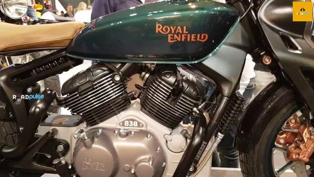 Royal Enfield KX Bobber Motorcycle
