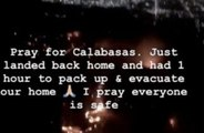 Casa de Calabasas de Kim Kardashian West é evacuada após grande incêndio