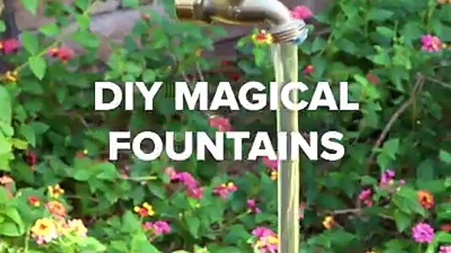 These DIY magical fountains are the perfect way to amaze your house guests!