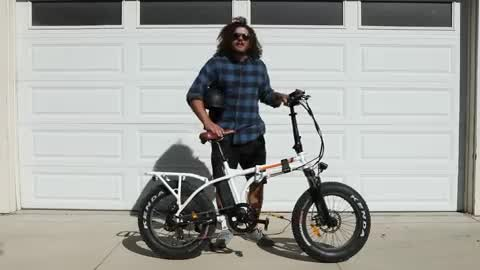 The RadMini by Rad Power Bikes is hefty yet rad!