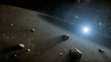 What are asteroids?