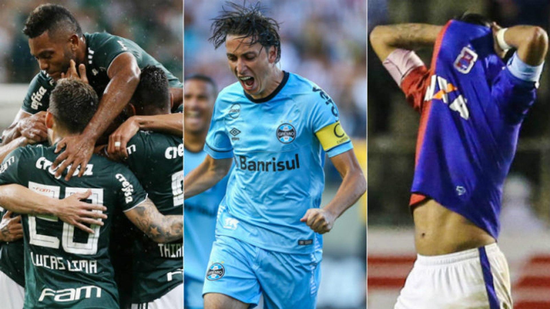 As chances dos clubes na reta final do Brasileirão 2018