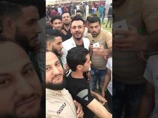 استقبال كبير من أهالي الانبار للشاعر سيف الحلفي