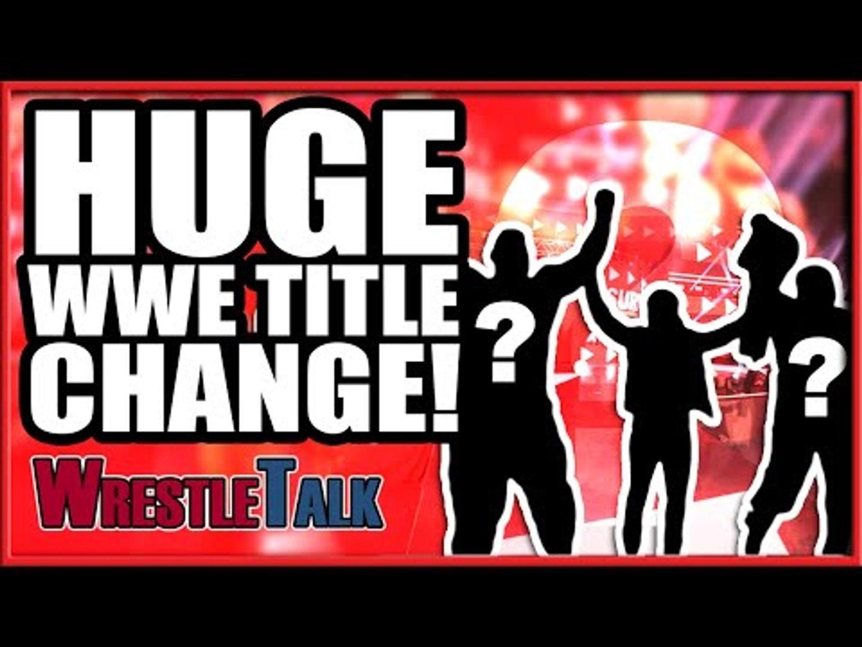WWE Star TURNS HEEL! HUGE WWE Raw Title Change! | WWE Raw, Nov. 5, 2018 Review