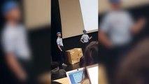 Trois étudiants lâchent un cygne dans un amphi (Clermont-Ferrand)
