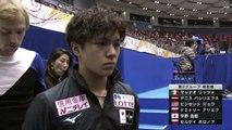 宇野昌磨 Shoma Uno SP 『天国への階段』& インタビュー&バックステージ・フィギュアスケートのグランプリシリーズ2018 第4戦 NHK杯 (日本大会) ISU Grand Prix of Figure Skating – NHK Trophy 2018