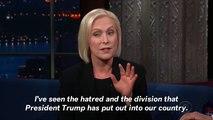 Sen. Kirsten Gillibrand Tells Colbert She's Considering 2020 Presidential Run
