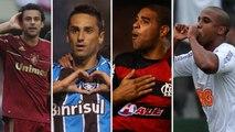 Relembre os artilheiros das últimas dez edições do Brasileirão