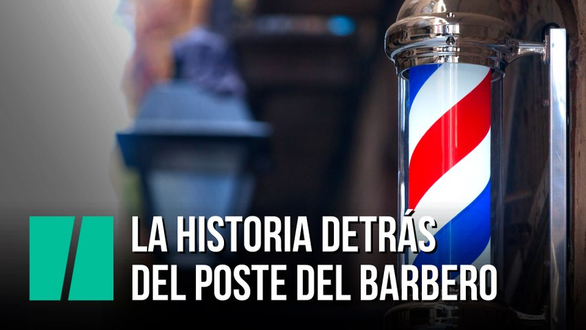 La historia detrás del poste del barbero