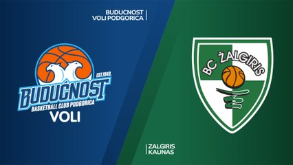 EuroLeague 2018-19 Highlights Regular Season Round 6 video: Buducnost 60-72 Zalgiris