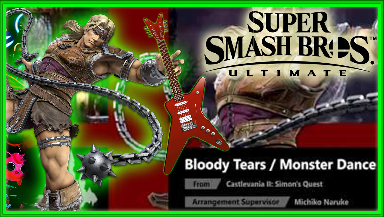 Bloody Tears/Monster Dance – Guitar Cover   Super Smash Bros. Ultimate ORIGINAL SOUNDTRACK