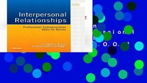[P.D.F] Interpersonal Relationships: Professional Communication Skills for Nurses, 7e [E.B.O.O.K]