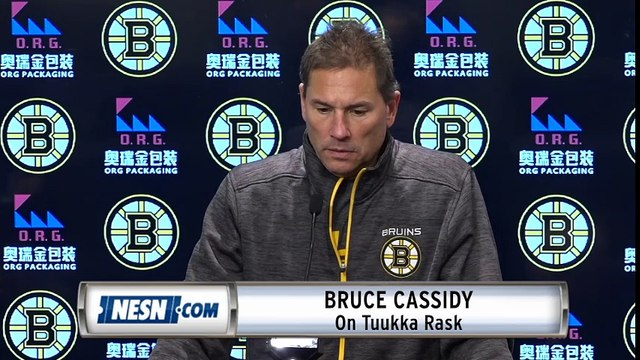 Bruce Cassidy Addresses Tuukka Rask's Excused Absence From The Bruins