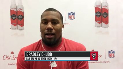 Broncos LB Bradley Chubb on Being Honored by NC State