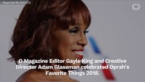 Gayle King Talks About What It's Like To Spend The Holidays With Oprah