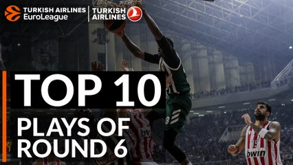 Regular Season, Round 6: Top 10 plays