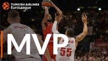 Turkish Airlines EuroLeague Regular Season Round 6 MVP:  Cory Higgins, CSKA Moscow