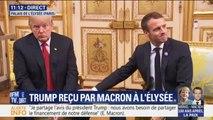 Donald Trump et Emmanuel Macron affichent leur accord sur une meilleure répartition du financement de la sécurité européenne