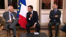 Conclusion de la table ronde à la mairie de Péronne