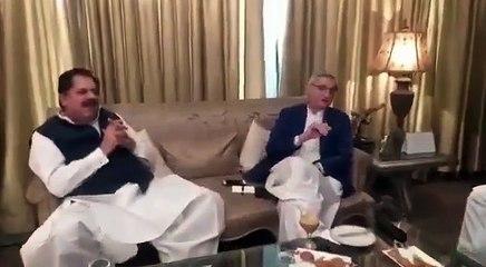 Jahangir Tareen, Chaudhary Pervaiz Ilahi, Tahir bashir cheema