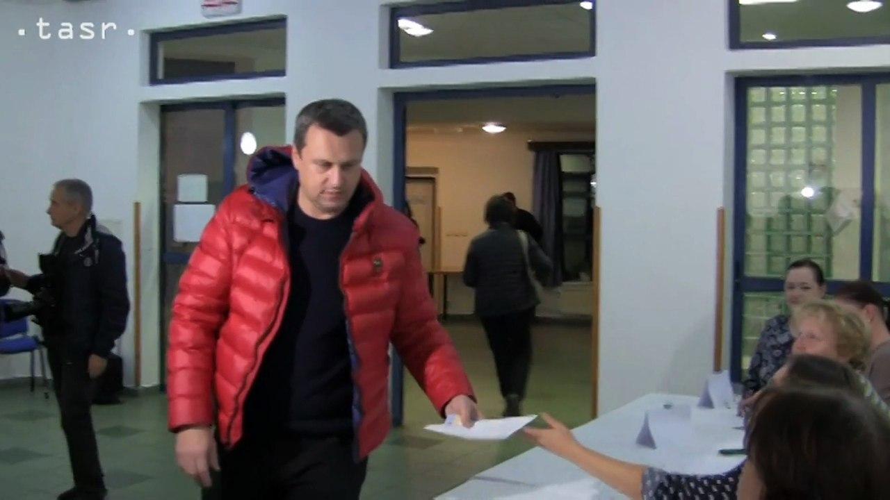 V Miloslavove - Alžbetinom Dvore odvolil už aj predseda parlamentu Andrej Danko