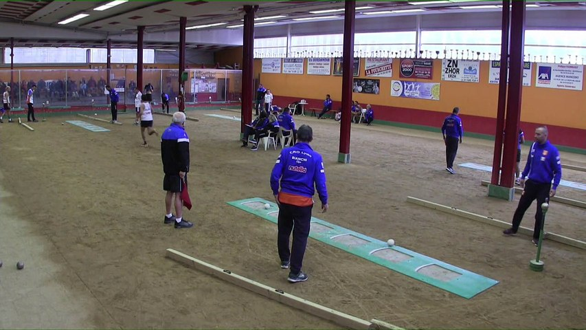 Premier tour, tir rapide en double, France Club Elite 1, J4, Tarare contre CRO Lyon,  saison 2018/2019