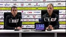 Les réactions de Sylvain Didot et de Vincent Rautureau après Guingamp - Lyon