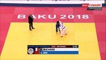 Parcours d'Amandine Buchard (-52kg), ChM de judo 2018