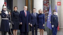 The Trumps Are Enjoying Paris With The Macrons