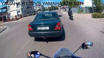YAMAHA R125 AND YAMAHA TZR 50! ( 720 X 1280 )